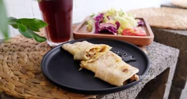 台中豐原│木林森早午餐-來吃早午餐,綠意點綴,餐具有質感,推粉漿蛋餅