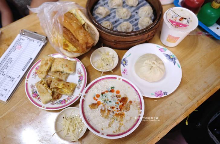20191017073306 94 - 長江早點-台中人氣排隊中式早餐,肉包現做現蒸,燒餅油條蛋來一份,鹹豆漿份量足