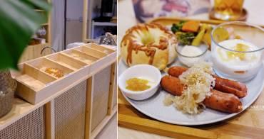台中中區│米花KOUJI-糀與貝果的空間,推手作貝果和自製甘糀飲品,台中火車站美食