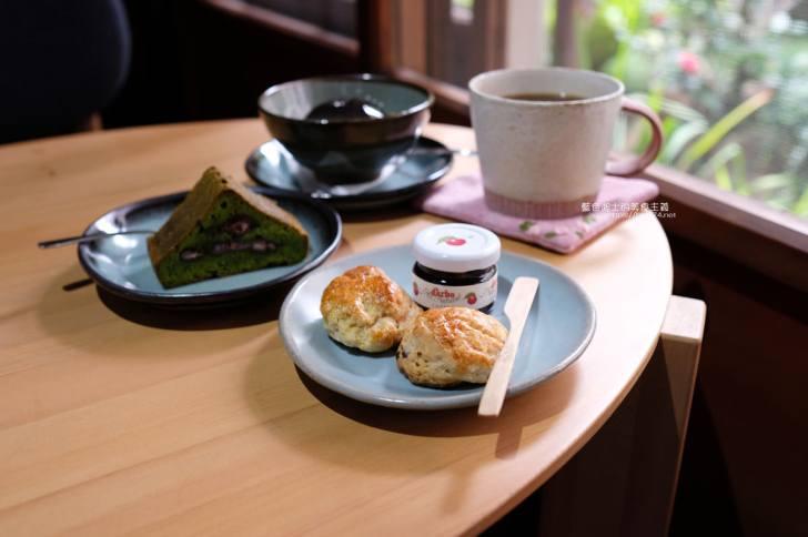 20200313015712 58 - 印藝文空間咖啡│百年日式木造老屋,有溫度的空間,推櫻花水信玄餅和司康