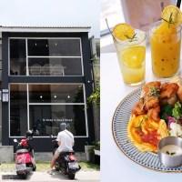 台中西區│Giocoso pasta&cafe-沉穩外觀純白色系明亮好拍內用空間,寵物友善餐廳
