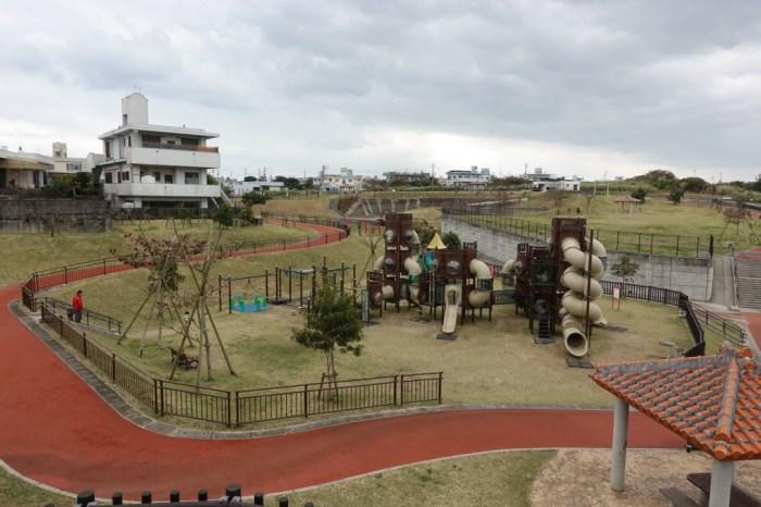 『2017沖繩』隱密卻好玩的空曠公園-伊波公園Inami Park