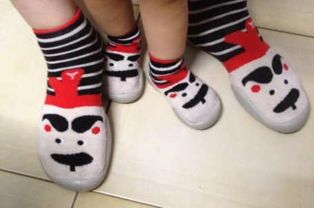 §『親子』為娘的失心瘋,硬是要一樣的母女鞋-Collection襪鞋§