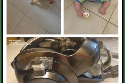 『居家清潔』孩子的翻滾天地也要每天輕鬆清-LG CordZero圓筒式高階無線吸塵器
