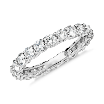 Colin Cowie Infinity Diamond Eternity Ring In Platinum 2