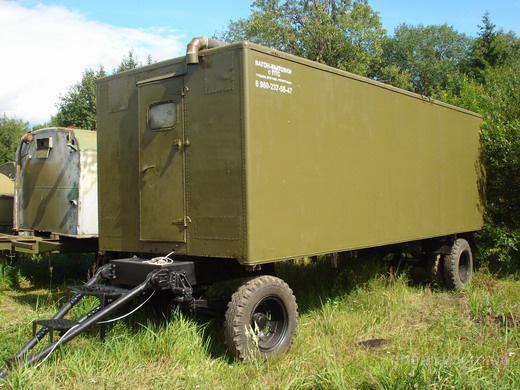 прицеп фургон строительный на колесах - продам.купить ...