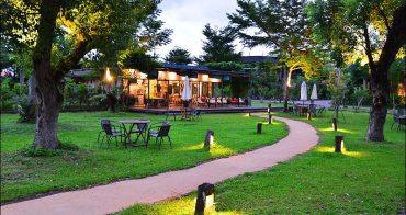 宜蘭冬山》天ㄟ咖啡~梅花湖岸景觀餐廳,擁有天ㄟ露營車營地也可以住一晚