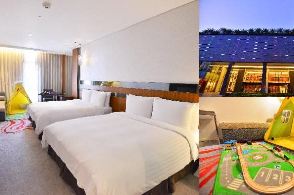新竹住宿》芙洛麗大飯店FLEURLIS,有夢幻教堂的新竹親子友善飯店