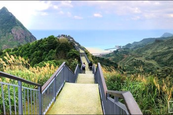 新北市東北角步道   金瓜石報時山步道~全台最短看海景觀步道.360度超寬景色(全新景觀平台新登場)