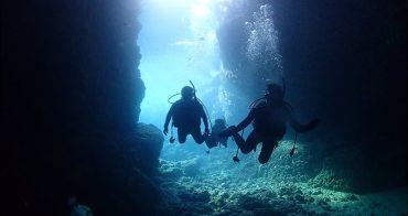 沖繩潛水推薦》青之洞窟潛水店MyDiving,有中文教練,一對二潛水教學,不會游泳也能潛水