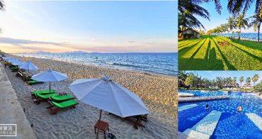 越南會安住宿》棕櫚園海灘Spa度假村,私人沙灘泳池五星級親子飯店 (Palm Garden Beach Resort & Spa)
