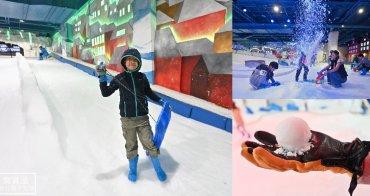 台中親子景點》SNOWTOWN雪樂地. 不用出國夏天也能打雪仗、滑雪~台中三井outlet必玩
