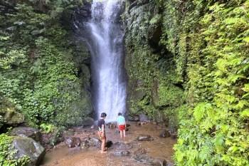 基隆私房景點 泰安瀑布步道,10分鐘賞瀑布戲水,陰離子芬多精一次擁有