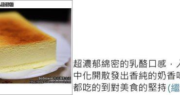 [ 台中好吃 ] 台中禾雅堂(HOARD)經典乳酪蛋糕