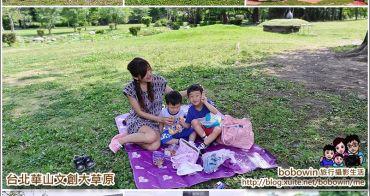 《 台北親子景點 》台北華山1914文創園區 大草原野餐、踢球、遛狗