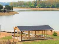 New shelter house by the lake