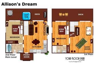 Floor Plan at Allison's Dream in Shagbark TN