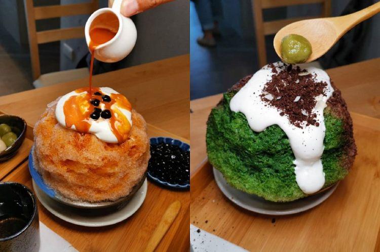 冰屋台南安平店。把富士山刨冰吃進肚子裡|一場奇幻探險就在舌尖與視覺中展開!