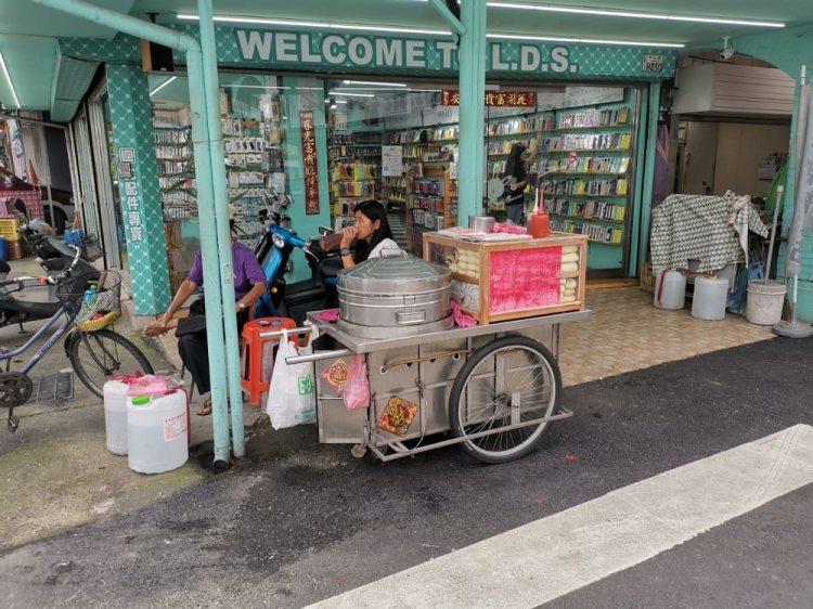 台南佳里無名手工包子攤車。在地人童年回憶|佳里美食