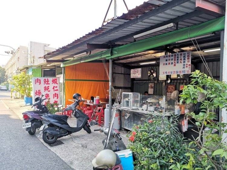 金華市場巷弄中鐵皮屋土魠魚羹蝦仁肉丸|台南觀光城周邊美食