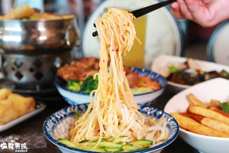 台南東區懷舊風現代版泡沫紅茶店!六羨茶食堂~吃飯、聊天的好趣處!