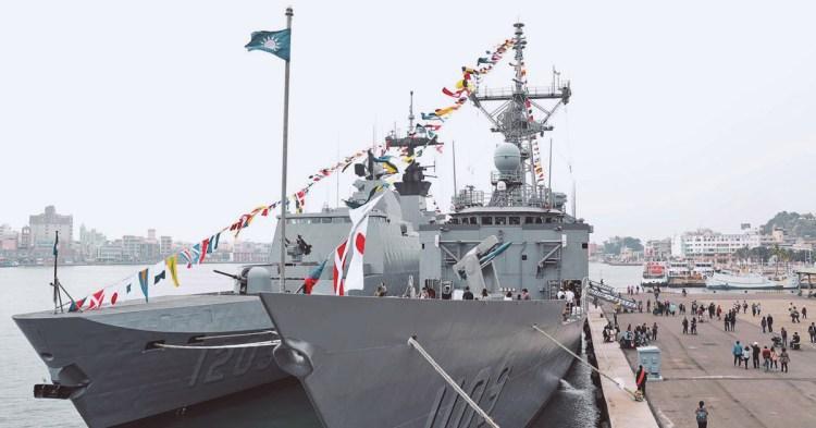 海軍2019年「敦睦艦隊」在台南安平港,限時兩天艦艇開放免費參觀!