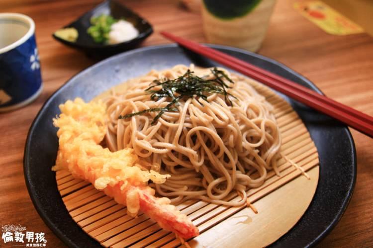 台南涼麵超推!炎炎夏日,來洞蕎麥點一碗東京男兒的手工蕎麥麵吧!