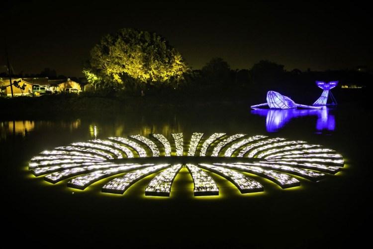 台南 2020 年月津港燈節「海市蜃樓」週末登場,春節不容錯過的走春景點!