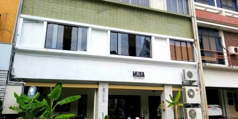 台南異國料理推薦~美術館附近的平價泰式美食「MUSA船麵」!