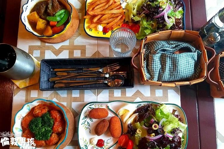 台南少見的西班牙風格早午餐店,藏身在巷弄裏的「船長先生餐酒館」!