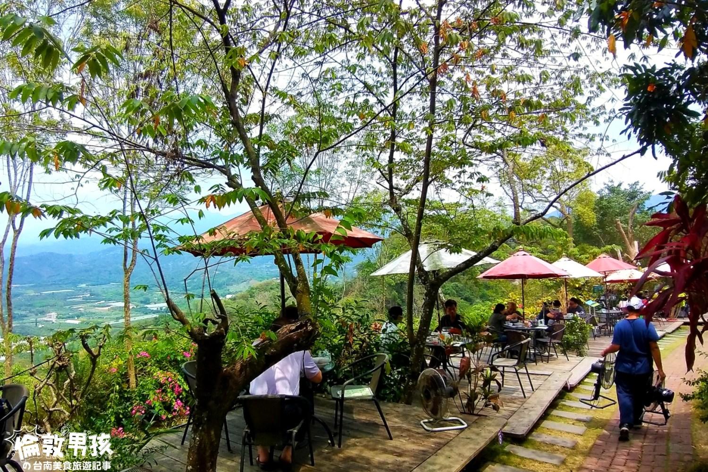 台南山林景觀餐廳-適合看美景、看夜景、溜寵物的「瑪莎園MASA」