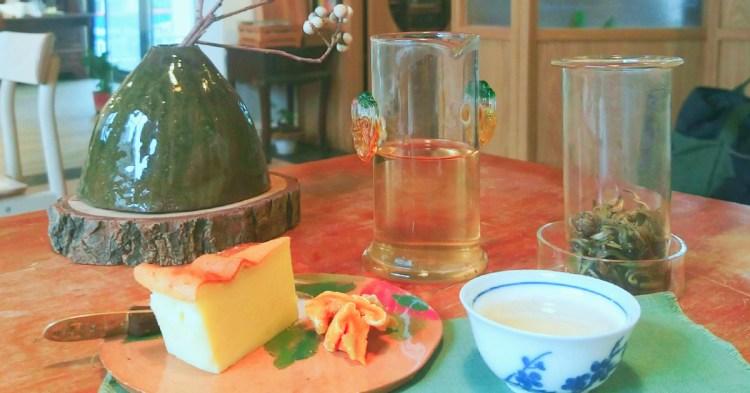 台南飲品推薦,文創聚落西竹圍之丘單純品好茶的-「有時甘杯」