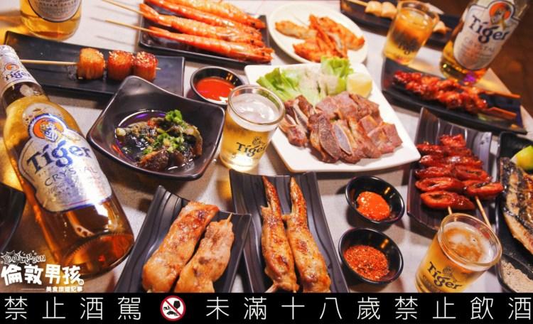 台南海安路宵夜,深夜食堂「念水町」日式再生酒場,串燒、關東煮配虎牌冰釀啤酒!
