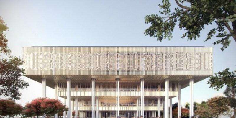 台南市立圖書館「新館」2021 年一月正式開幕!擁有全台最大的 24 小時取換書區~