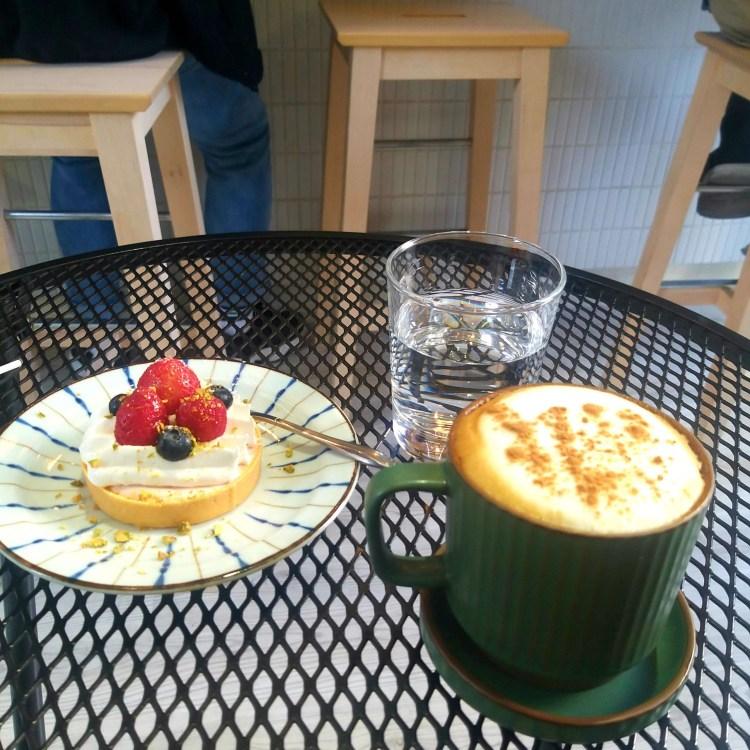 台南 Ark Coffee Shop 自家烘焙咖啡小店 布丁
