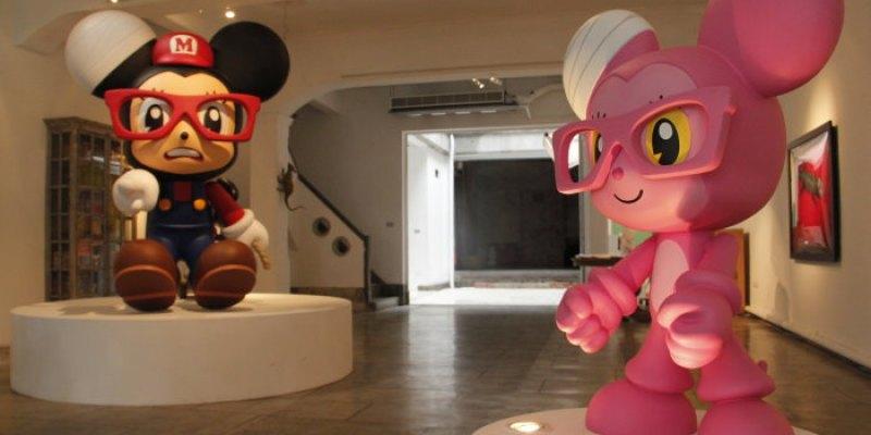 在 B.B. ART 與藝術來場下午茶約會!