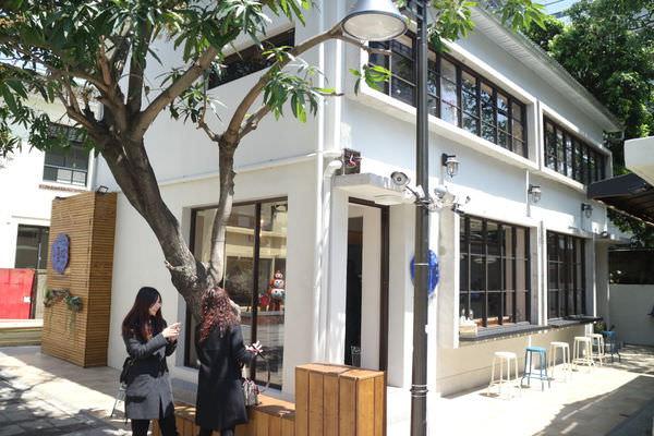 台南藍晒圖文創園區美食-「小覓秘麵食所」 的新型態創意義式湯麵館!