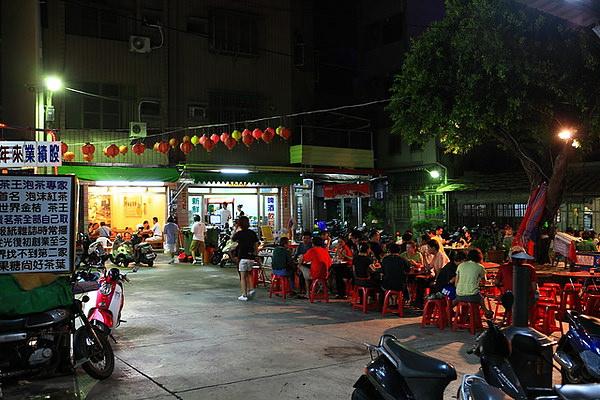 台南-中西區,原沙淘宮廟前【海產、碳烤、關東煮】