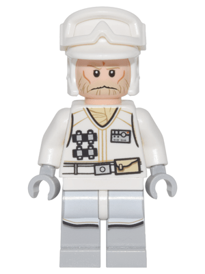 Bricklink Minifig Sw0765 Lego Hoth Rebel Trooper White