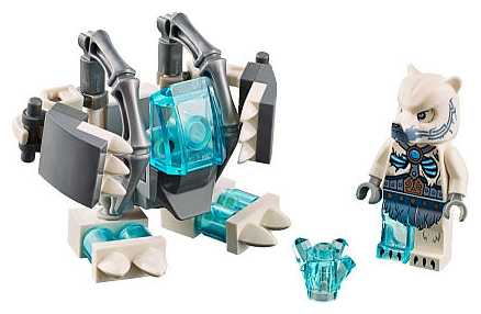 BrickLink   Set 30256 1   Lego Ice Bear Mech polybag  Legends of     Lego Ice Bear Mech polybag