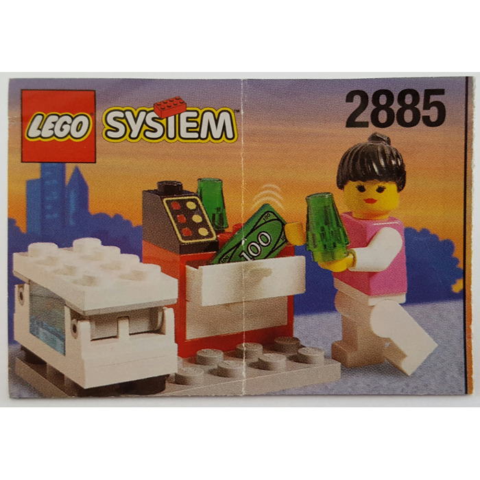 LEGO Ice Cream Seller Set 2885 Instructions   Brick Owl   LEGO     LEGO Ice Cream Seller Set 2885 Instructions