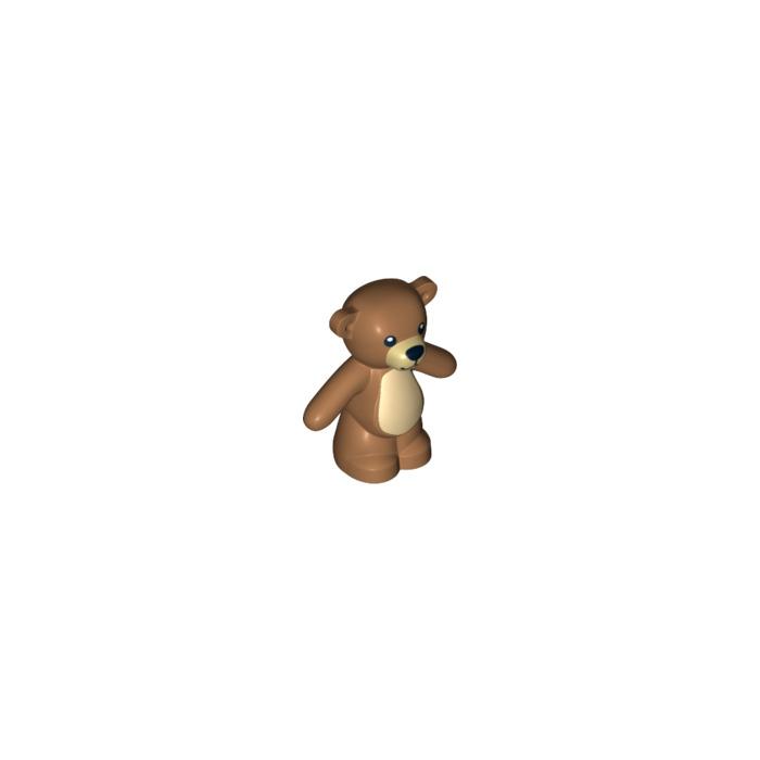 LEGO Medium Dark Flesh Teddy Bear With Decoration 15912
