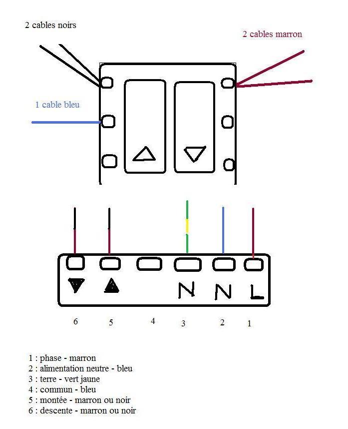 Montage Electrique Boitier Volets Roulants Somfy