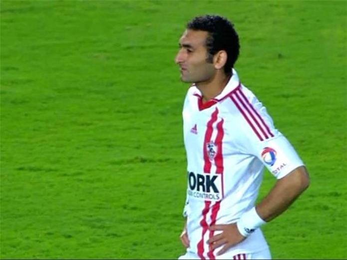 Ahmed Samir, former right back of Zamalek