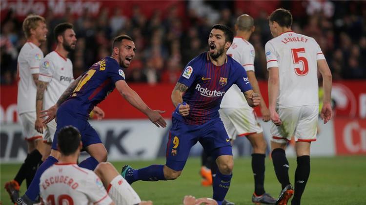 موعد والقنوات الناقلة لمباراة برشلونة واشبيلية في نهائي كأس