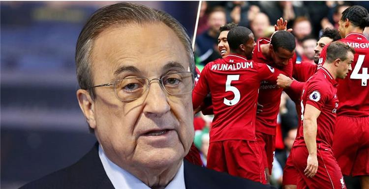 Liverpool displays his player on Real Madrid and the Royal Club responds