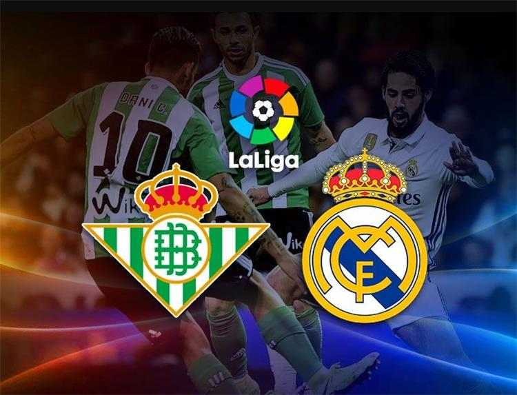 Real Madrid and Real Betis