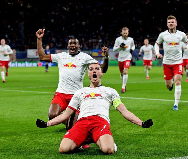Bundesliga Marcel Sabitzer Inspired Rb Leipzig Ease Into