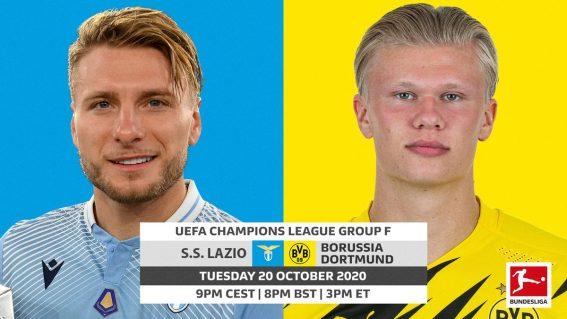 Bundesliga | Lazio vs. Borussia Dortmund: UEFA Champions League probable line-ups, match stats and LIVE blog!