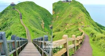 新北景點》鼻頭角稜谷步道,美拍鼻頭國小無敵海景,一生必訪一次~